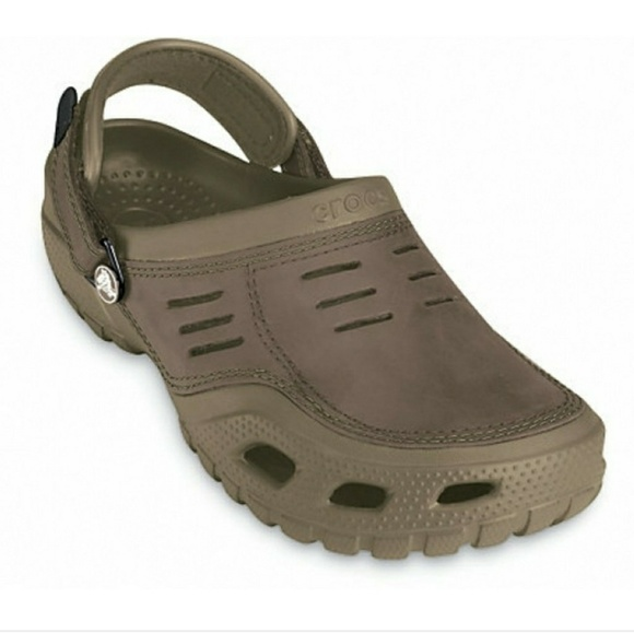 a33a9f9ae CROCS Other - Men s Slides   Sandals Crocs Yukon Sport Clogs 9
